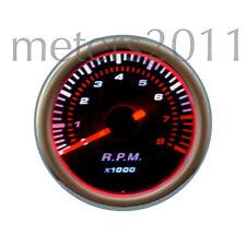 "2"" Tachometer - 8000 RPM -12 Volt - Smoke Lens - Back Lit - 90 Series - ROUND"