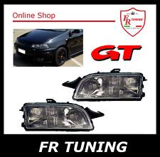 FIAT PUNTO GT 1 MK1 (176) 93>99 FARI FANALI ANTERIORI NERI