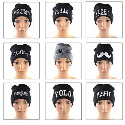 Warm Beanie Hats Fashion Men's Women's Beanie Unisex Warm Winter Knit Hip-hop