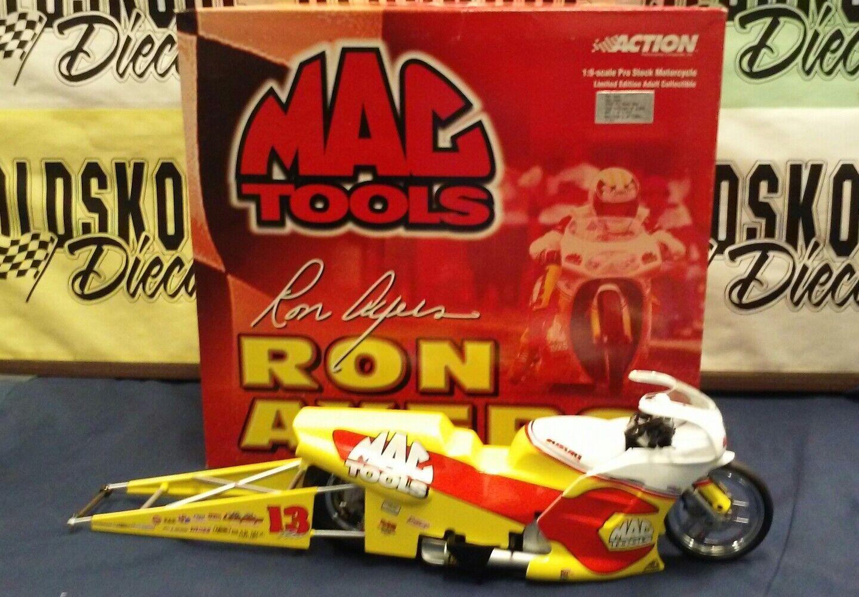 Ron Ayers Mac herramientas. 2000 PRO STOCK motocicleta acción 1 9 Escala