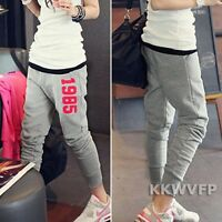Korean Fashion Women Casual Harem Hip Hop Dance Sports Pencil Pants Trousers