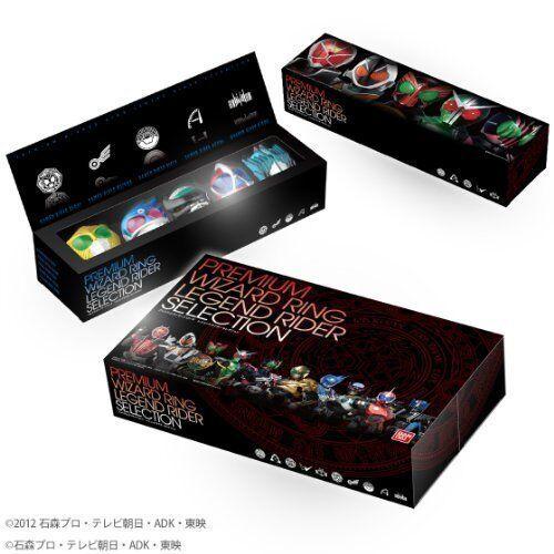 Bandai Kamen Rider Wizard Premium Wizard Ring Legend Rider Selection