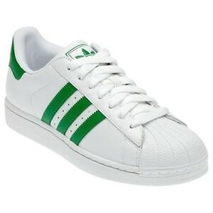 new styles 59db2 7b4cd Details about Adidas Originals Superstar 2 II W Men's Sneakers Shoes  Oversize White Green