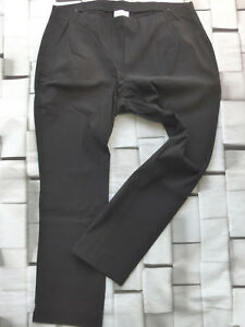 Sheego-Bengalin-Trousers-7-8-Pull-on-Capri-Pants-Size-42-to-58-Black-853