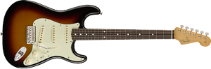 Fender-Classic-Series-039-60s-Stratocaster-3-Color-Sunburst-Electric-Guitar-w-Bag