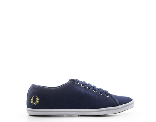 Scarpe FRED PERRY Donna Sneakers Trendy  BLU Tessuto B3182W-584