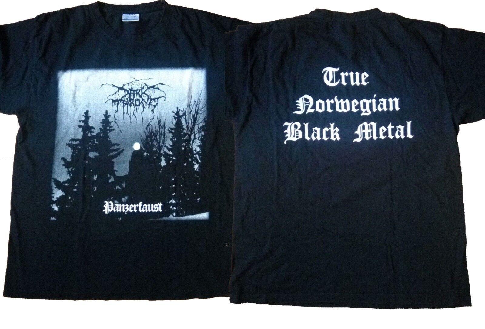 e6ebe911b6bf Vintage Rare Darkthrone Style Black Metal Death Immortal Mayhem T ...