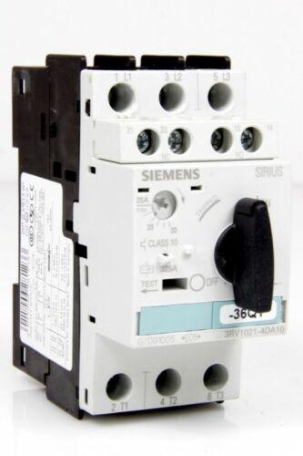 Hilfsschalter 3RV1901-1E Siemens Leistungsschalter 20-25A 3RV1021-4DA10