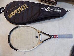 Wilson Dual Taper Beam Hammer System 6 2 Tennis Racket 4 1
