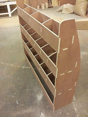 VW Caddy SWB Van Racking Plywood Shelving  Van Storage Accessories