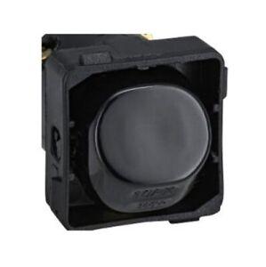 10A AMP Double 2 Pole Switch Electrical Mech Clipsal Compatible Black Colour