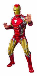 CK1481 Deluxe Child Endgame Iron Man Superhero Avengers 4 Marvel Boys Costume