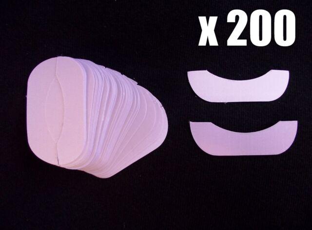 25 - 200 Pairs x Eyelash Extension Under Eye Pads: Lint Free (silk, extensions)