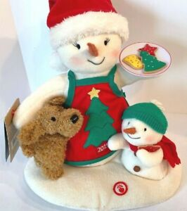 HALLMARK-CHRISTMAS-Jingle-Pals-Time-for-Cookies-Musical-Animated-Singing-Snowman