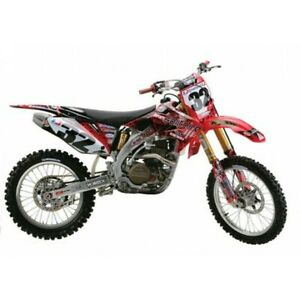 Kit De Gráficos solitario Honda CR 125 250 R 2002 - 2007 AMA Supercross del motocross