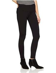 Brand-Daily-Ritual-Women-039-s-Seamed-Front-Black-Size-Large-Long
