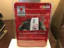 Home accents holiday 18ft super bright rope light kit red and white home accents holiday 18 ft super bright rope light kit red green white aloadofball Choice Image
