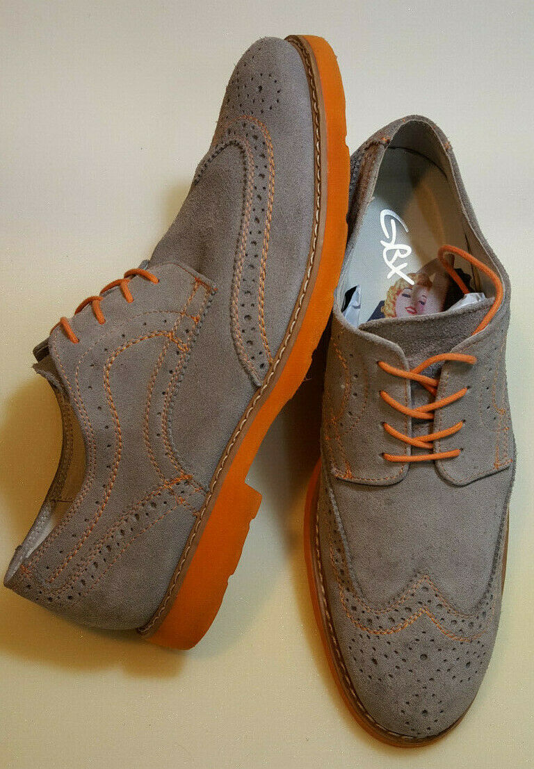 GBX Gatsby style Mens Size 10.5 M Grieves Oxfords Toe Cap Marilyn Monroe Insoles