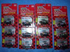 RACING CHAMPIONS 1997 Chrome CHASE CAR 12set1/64 Gordon Waltrip John Deere CAT