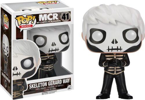 Gerard Way The Black Parade  Skeleton Face Exclusive PREORDER Funko Pop MCR