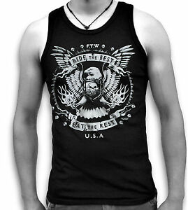 Biker-Eagle-Wings-Ride-the-Best-USA-Mens-Sleeveless-Muscle-T-Tank-Top-Vest