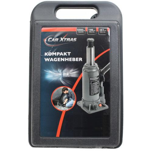Koffer Neu Kompakt Wagenheber Stempelheber hydraulisch Heber  bis zu 5t inkl