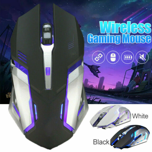 Extreme Comfort Mice Charging Wireless Mouse Computer Mouse Aluminum Alloy Simple USB Mute Mouse Business Office Game Photoelectric Mouse Color : Black, Size : 1296918mm