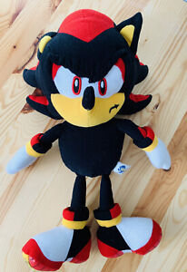 Rare-Sonic-X-Shadow-Soft-Toy-Plush-Gosh-International-Collectable-Black