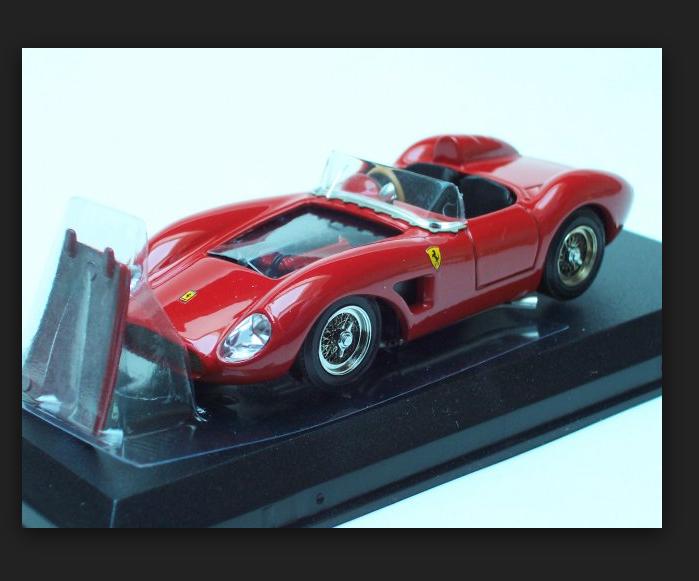 Ferrari 500 TRC 1956 Prova rouge 014 1 43 Art Model Made in