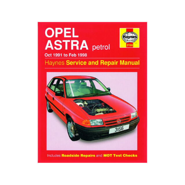 haynes manual vauxhall astra petrol oct 91 feb 98 ebay rh ebay co uk haynes manual opel astra f haynes manual opel astra f