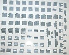 LEGO Light Blue Grey 87580 Plate w Knob Double Clip 48336 Bracket 7965 8098 6211