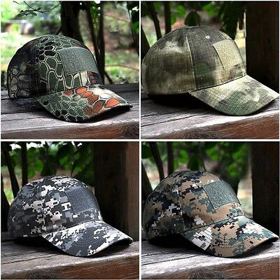 Vogue Tactical Baseball Cap Camouflage Military Camo Hat Outdoor Sports Training