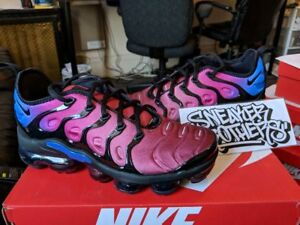 online retailer 10f1d 40cc4 Details about Nike WMNS Air Vapormax Plus Hyper Violet Purple Black Red  Racer Blue AO4550-001