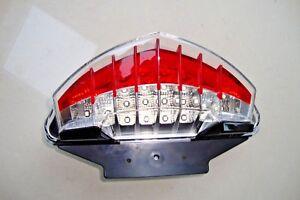Auto & Motorrad: Teile LED Rücklicht Heckleuchte schwarz BMW  F 650 GS F 650 ST GT smoked tail light Motorradteile