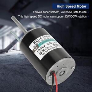 150W-Hochleistungs-Gleichstrommotor-DC-Elektromotor-High-Speed-24V-5500rpm