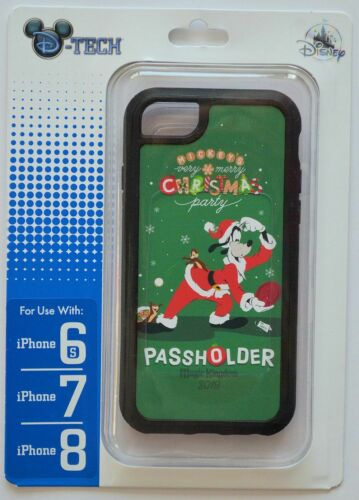Disney Park Mickey/'s Very Merry Christmas Party Passholder 6s//7//8 Phone Case NWT