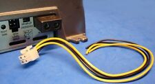 ROCKFORD FOSGATE 4-PIN AMP AMPLIFIER SPEAKER HIGH LEVEL INPUT PLUG WIRE HARNESS