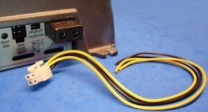 rockford fosgate 4 pin amp amplifier speaker high level input wire harness ebay