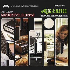 Dick Walter - Metropolis Now & Syd Dale - Mix and Match Amphonic 1980 funk CD