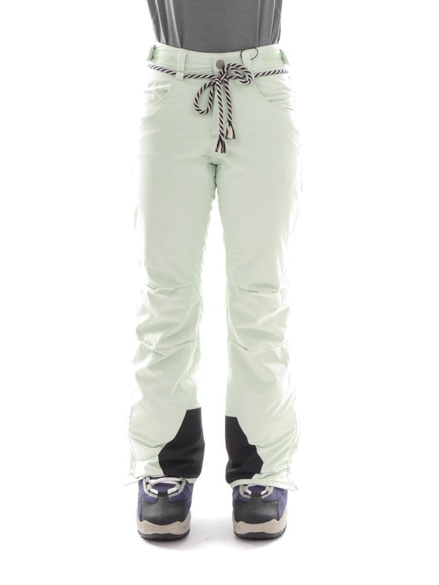 Brunotti Skihose Snowboardhose Schneehose green Lynx Kordel 8k warm