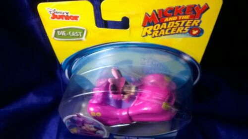 Disney Junior Mickey And The Roadster Racers Minnie's Pink Thunder DieCast Car