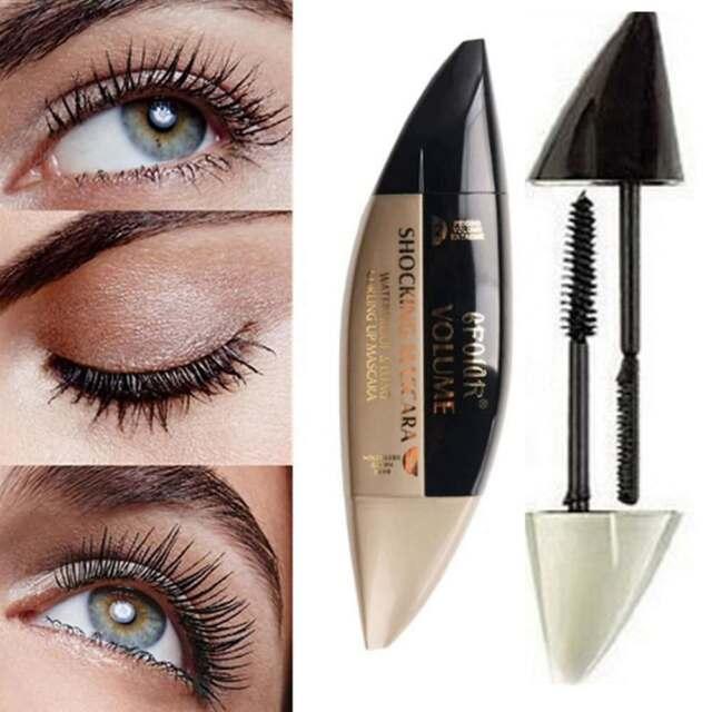 1pc 2 In 1 3d Fiber Mascara Long Lasting And Curling Eyelash Brush