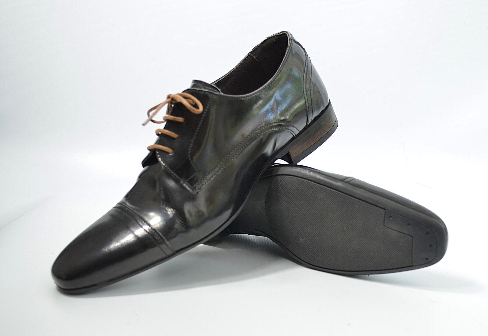 SAN MARINA Halbschuhe Serapo Gr. 41 Leder, UVP 90 Herren Schuhe (V1) 05/17  M3
