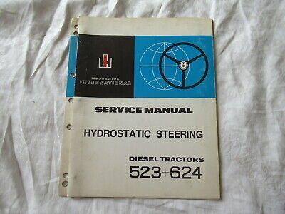 Mccormick International 523 1969 Manual