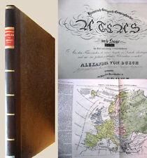 Historisch-genealogisch-geographischer Atlas - 1825/28