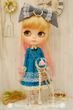 BHC FN668 Jeune Fille Green Dress Set for Kenner Blythe doll outfit