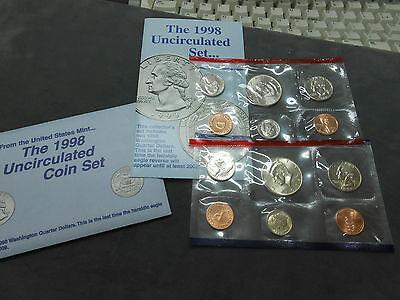 1998 U.S Mint Uncirculated Set