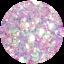 thumbnail 125 - Hemway Glitter Epoxy Resin Crystal Kitchen Worktop Counter Table Top Pigment