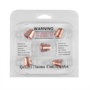 5pcs Cutter Nozzles Torch Tips Consumables 220930 For MAX65 Cutter