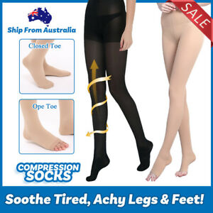 003cdb83bc4 Image is loading Thigh-High-Compression-Pantyhose-Stockings-Support -Varicose-Socks-